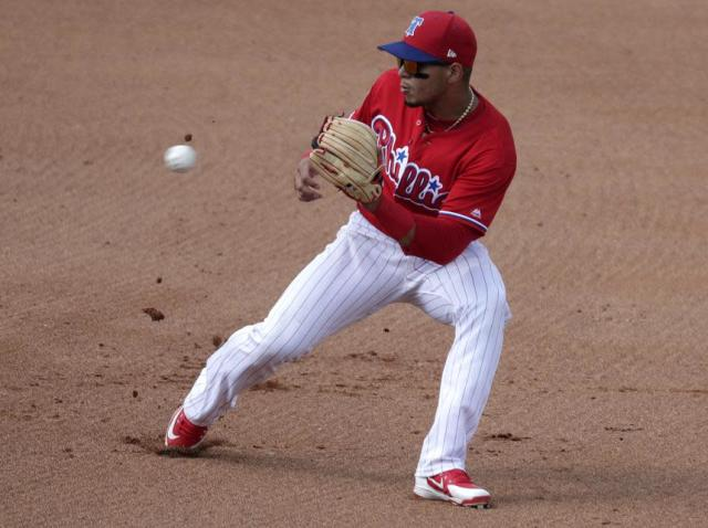 The future is now for the Phillies, which means shortstop J.P. Crawford's time has come. (AP)