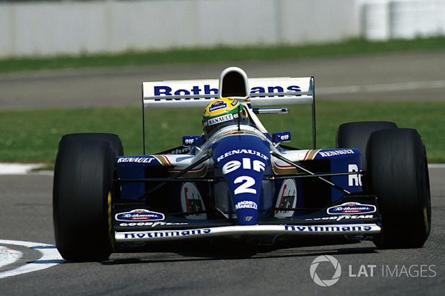 "1994 - Williams FW16 <span class=""copyright"">Sutton Images</span>"