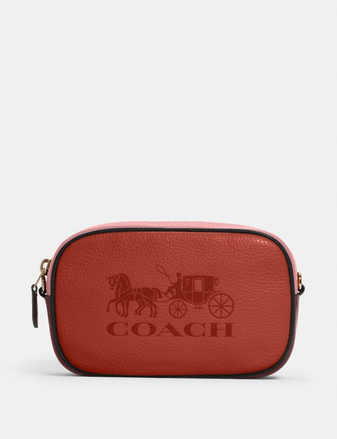 Jes Convertible Belt Bag In Colorblock With Horse And Carriage - on sale at the Coach Outlet for Black Friday, $79 (originally $328).