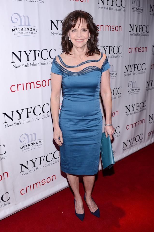 NEW YORK, NY - JANUARY 07:  Sally Field attends the 2012 New York Film Critics Circle Awards at Crimson on January 7, 2013 in New York City.  (Photo by Stephen Lovekin/Getty Images)