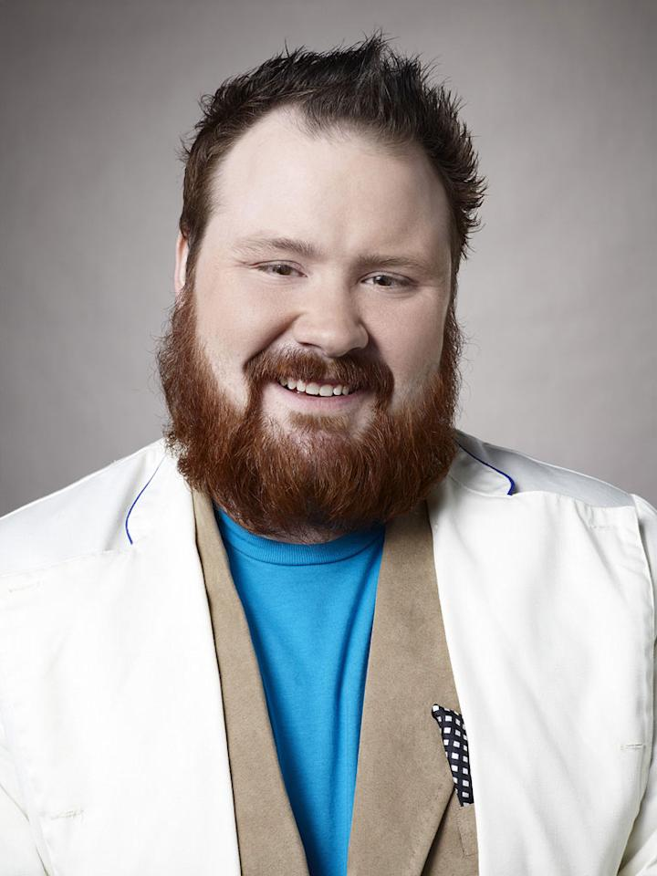 """Kevin Gillespie competes in the sixth season of <a href=""""/top-chef/show/38481"""">""""Top Chef.""""</a>"""