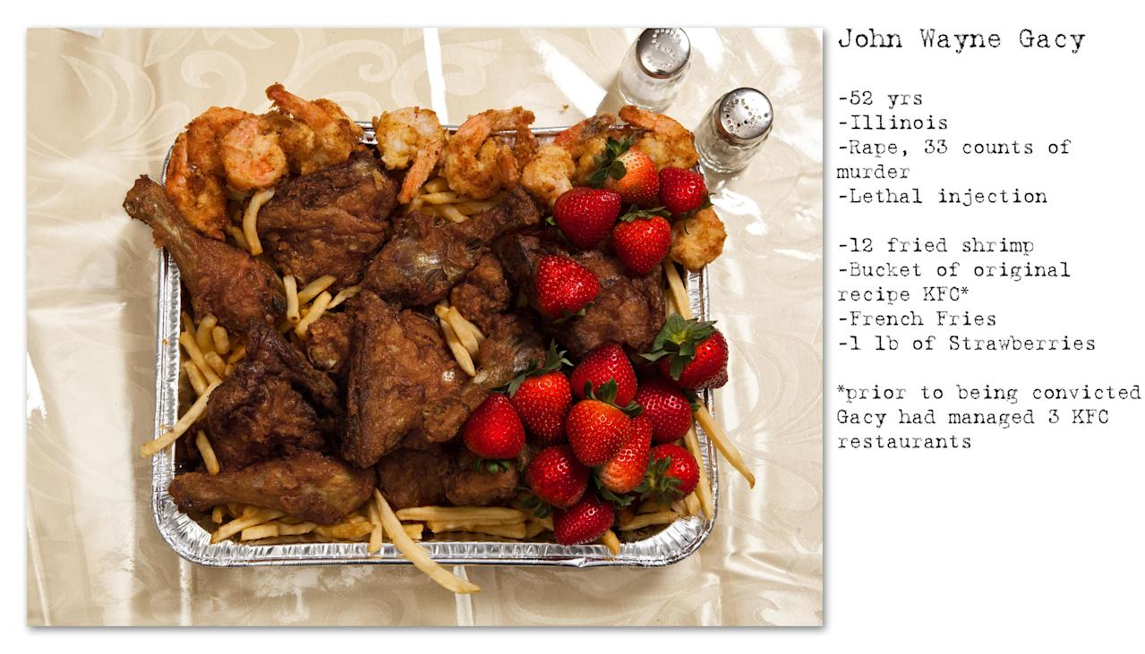 Last Meals: Feasting on a Death Row Ritual