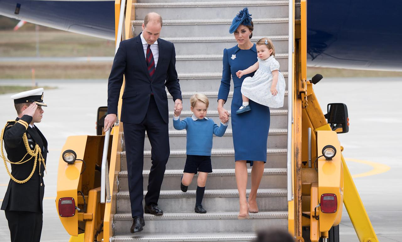 <p><p>When the royal fam touched down for a tour of Canada last year, they were picture perfect in coordinating outfits.</p>                                                                                                                                                                   <h4>Getty Images</h4>
