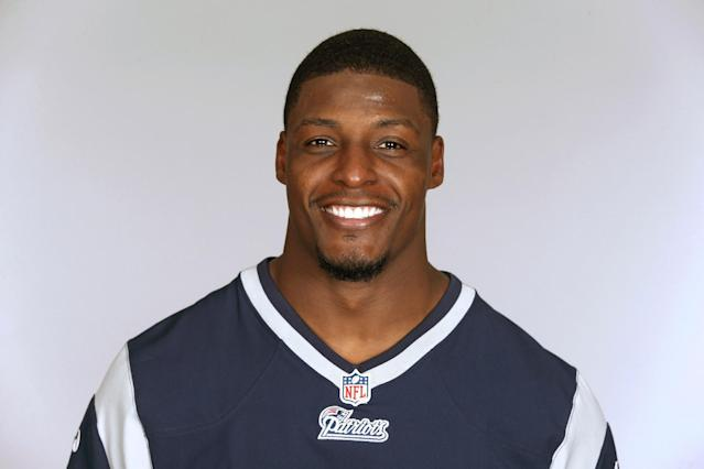 This is a 2013 photo of Adrian Wilson of the New England Patriots NFL football team. This image reflects the New England Patriots active roster as of Wednesday, June 5, 2013 when this image was taken. (AP Photo)