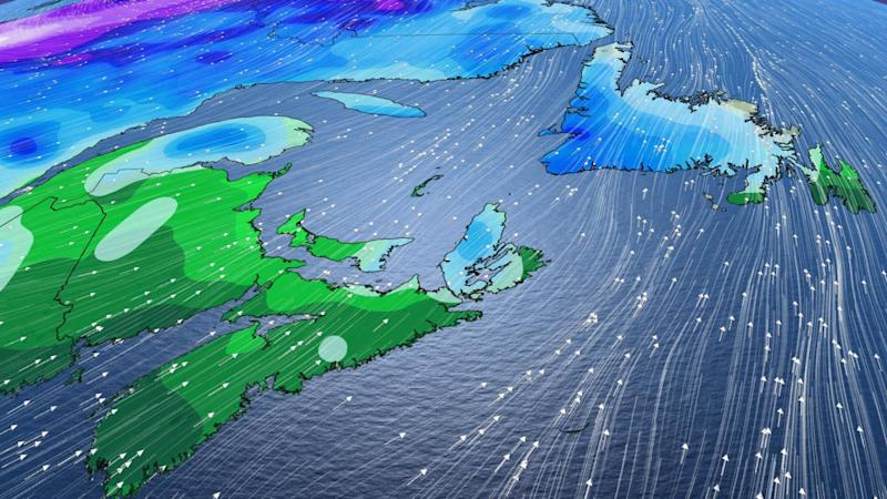 Atlantic: Sunshine returns, but the weekend will have a wet finish