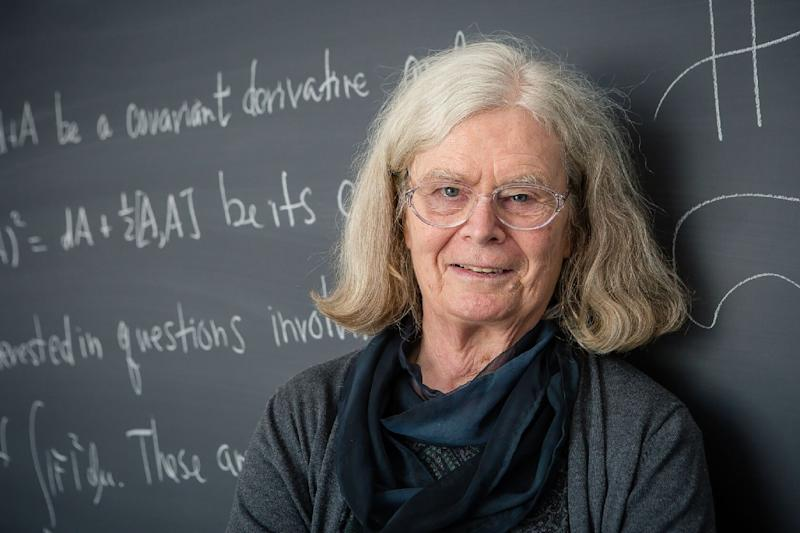 Karen Uhlenbeck, a visiting senior research scholar at Princeton University in the US, is the first woman to be awarded the prestigious Abel Prize in mathematics