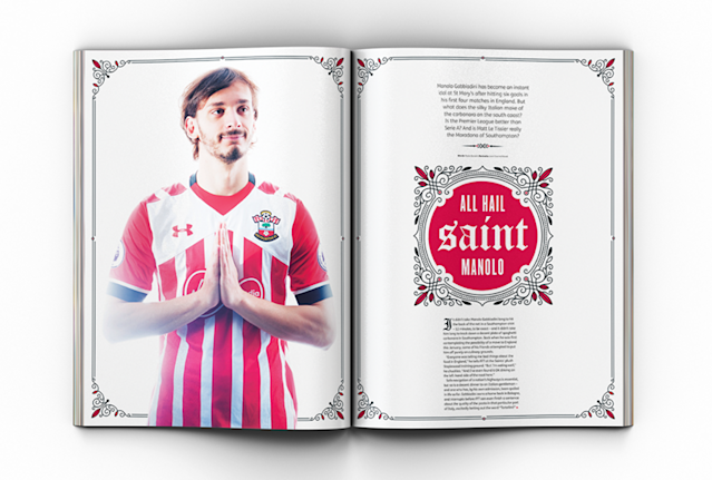 Manolo Gabbiadini has toldFourFourTwo that his stellar start at Southampton came as a surpriseevento himself.