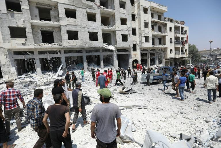 Syrian President Bashar al-Assad's regime still holds Idlib's southeastern tip and he has set his sights on retaking control of the region, which borders Turkey