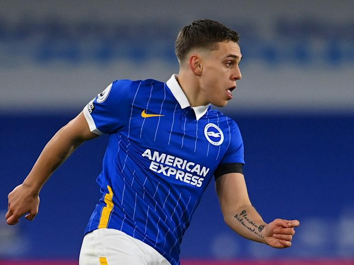 Brighton's Leandro Trossard in action against Everton (Getty Images)