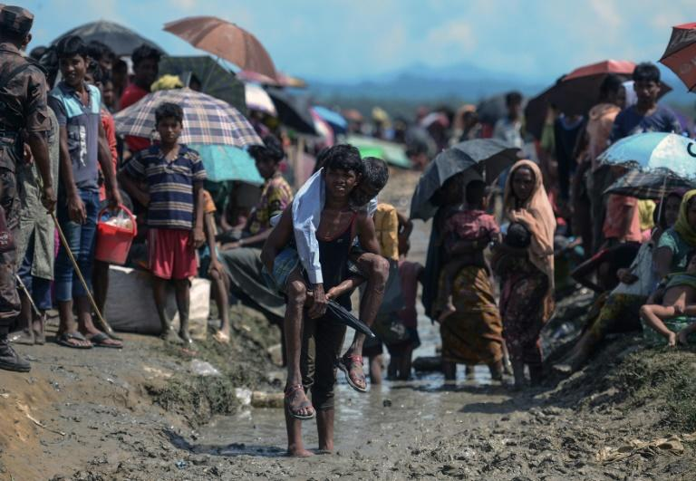 Impoverished, overcrowded Bangladesh is now home to nearly a million Rohingya refugees, the majority of whom have arrived in less than two months