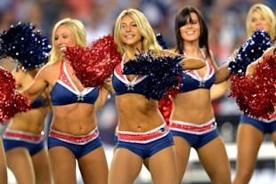 New England Patriots cheerleaders. (Getty Images)