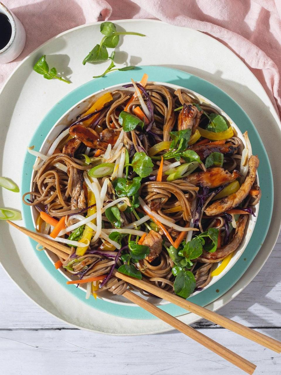 These colourful noodles don't only look great, they taste great too (Lee Kum Kee - Jeremy Pang)