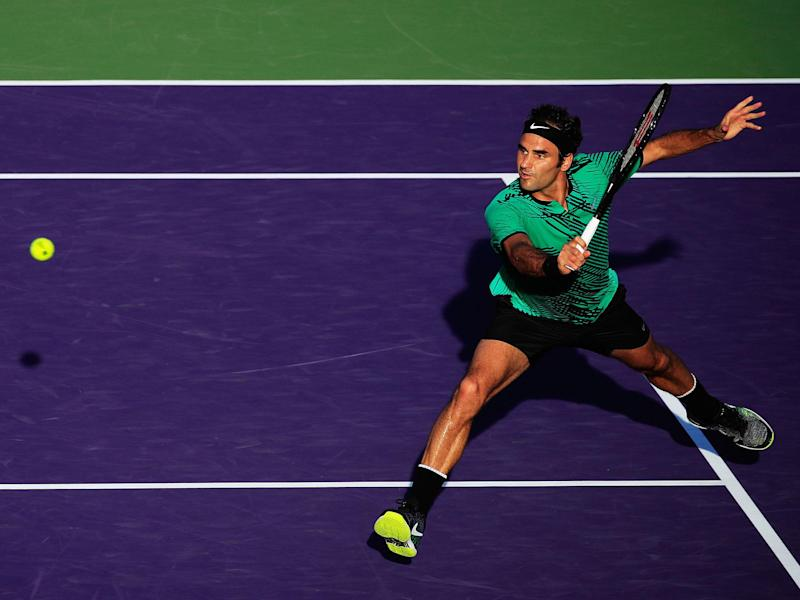 Roger Federer continued his fine form in 2017: Getty
