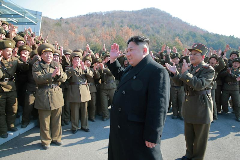 North Korean leader Kim Jong Un supervised a ballistic rocket launching drill of Hwasong artillery units of the Strategic Force of the KPA on the spot in this undated photo released by North Korea's Korean Central News Agency (KCNA) in Pyongyang March 7, 2017. KCNA/via REUTERSATTENTION EDITORS - THIS PICTURE WAS PROVIDED BY A THIRD PARTY. REUTERS IS UNABLE TO INDEPENDENTLY VERIFY THE AUTHENTICITY, CONTENT, LOCATION OR DATE OF THIS IMAGE. FOR EDITORIAL USE ONLY. NOT FOR SALE FOR MARKETING OR ADVERTISING CAMPAIGNS. NO THIRD PARTY SALES. NOT FOR USE BY REUTERS THIRD PARTY DISTRIBUTORS. SOUTH KOREA OUT. NO COMMERCIAL OR EDITORIAL SALES IN SOUTH KOREA.