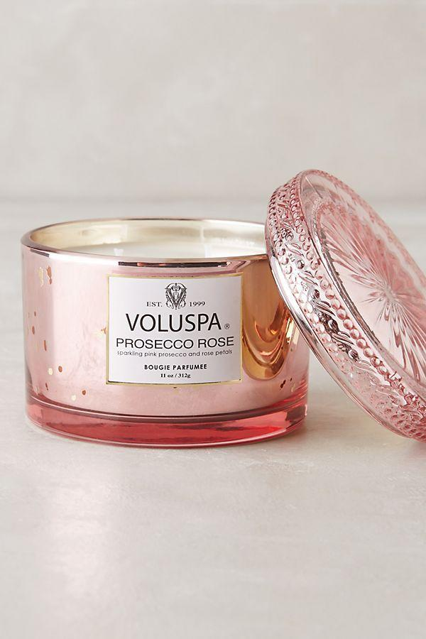 """<p><strong>Voluspa</strong></p><p>anthropologie.com</p><p><strong>$30.00</strong></p><p><a href=""""https://go.redirectingat.com?id=74968X1596630&url=https%3A%2F%2Fwww.anthropologie.com%2Fshop%2Fvoluspa-maison-candle&sref=http%3A%2F%2Fwww.elledecor.com%2Fshopping%2Fg28470761%2Fbest-pink-candles%2F"""" target=""""_blank"""">Shop Now</a></p><p>With notes of rose and a touch of pink prosecco, this pink candle from Voluspa is a must-have. </p>"""