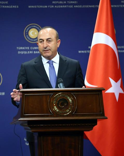Turkish Foreign Minister Mevlut Cavusoglu says messages of solidarity are not enough in the fight against terrorism