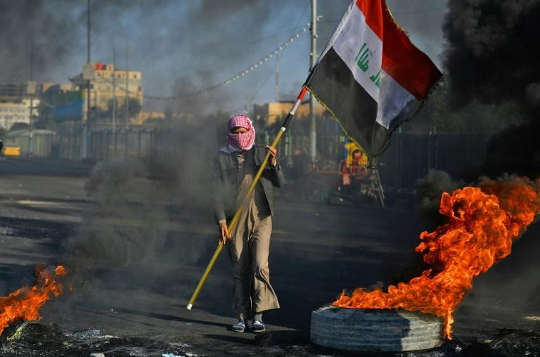 Iraqis have been demonstrating for months to demand sweeping reforms (AFP Photo/Haidar HAMDANI)