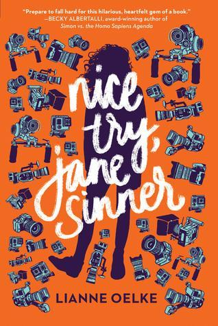 Picture of Nice Try Jane Sinner Book