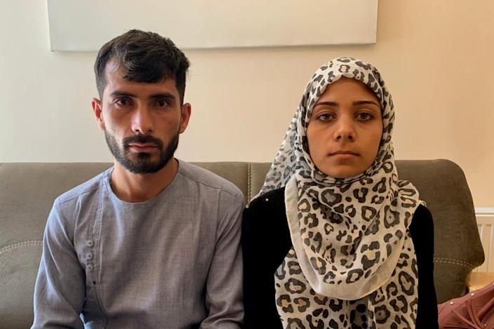 Mirwais and Rehana were devastated when they were blamed by some for the blast