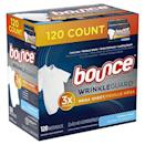 """<p><strong>Bounce</strong></p><p>amazon.com</p><p><strong>$8.96</strong></p><p><a href=""""https://www.amazon.com/dp/B07YBSM8C4?tag=syn-yahoo-20&ascsubtag=%5Bartid%7C10055.g.35000690%5Bsrc%7Cyahoo-us"""" rel=""""nofollow noopener"""" target=""""_blank"""" data-ylk=""""slk:Shop Now"""" class=""""link rapid-noclick-resp"""">Shop Now</a></p><p>Doing more laundry these days? These dryer sheets can cut down time on ironing, as they work to reduce static and help fabrics feel softer. """"Afterwards, <strong>your clothing ends up needing little to no ironing</strong>,"""" Redmile says. The extra large size is great for large loads, too. </p>"""