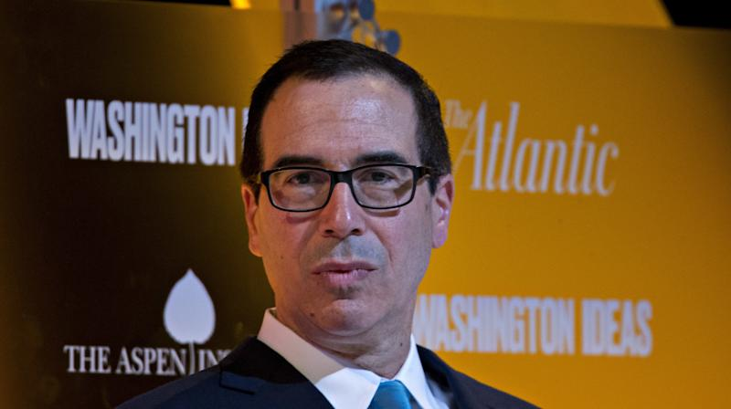 Mnuchin Won't Say If Trump's Tax Plan Would Benefit Trump