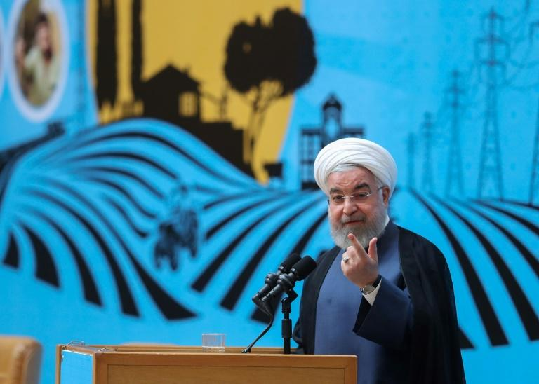 President Hassan Rouhani said Iran must 'use any tool' in the country's interests