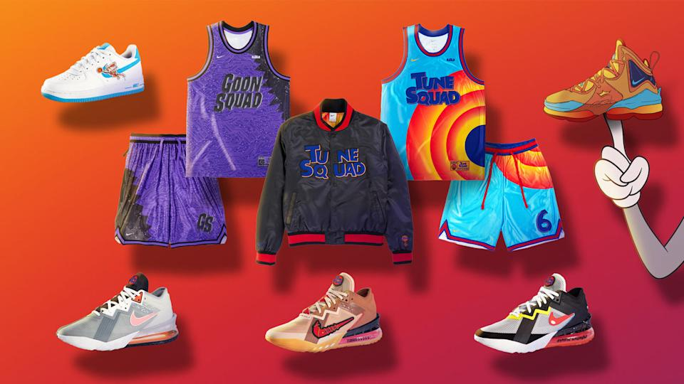 Nike and Converse are dropping a bunch of new merchandise ahead of next month's