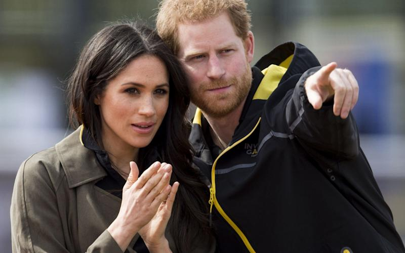 Bookmakers are offering odds of 5/1 that Prince Harry and Meghan Markle will see temperatures in excess of 29.1C on their wedding day - UK Press