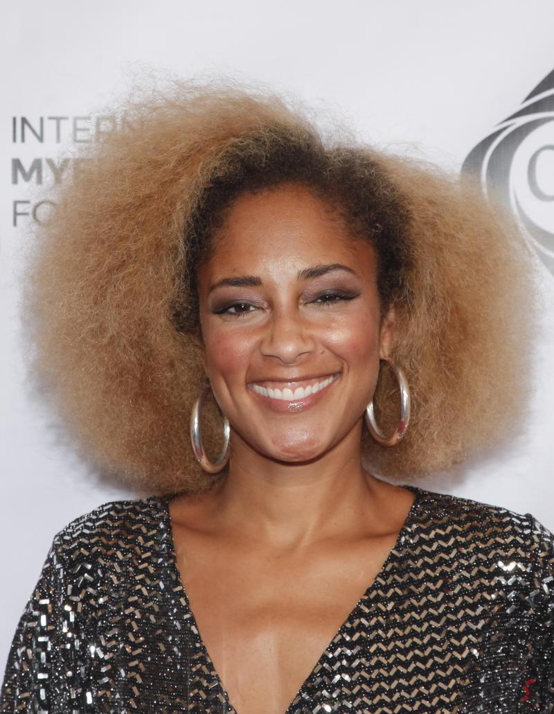 BEVERLY HILLS, CALIFORNIA - OCTOBER 17: Amanda Seales attends the 13th annual International Myeloma Foundation's Comedy Celebration at The Beverly Hilton Hotel on October 17, 2019 in Beverly Hills, California. (Photo by Tibrina Hobson/Getty Images)