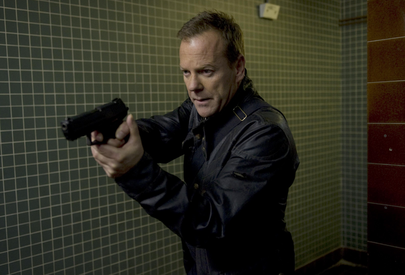 Kiefer Sutherland in 24 (Credit: Fox)
