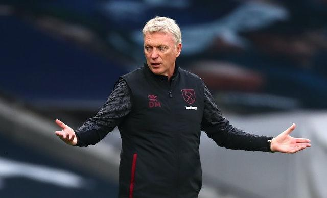 West Ham manager David Moyes has been converted to the idea having five substitutes available