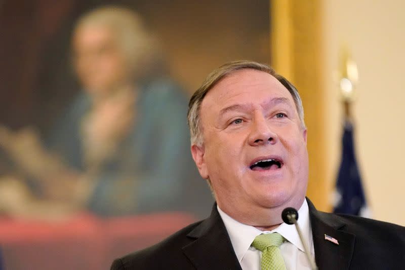 Pompeo warns U.S. politicians to be alert to Chinese 'influence and espionage'