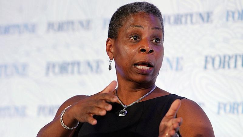 Ursula Burns speaks onstage during Fortune's Most Powerful Women Summit, October 13, 2015