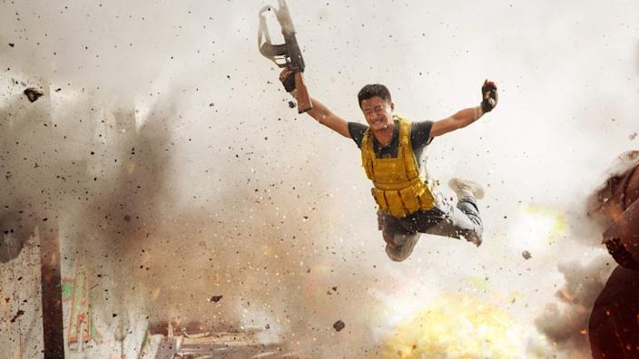 """Jing Wu in the film """"Wolf Warrior 2."""" Credit: Well Go USA"""