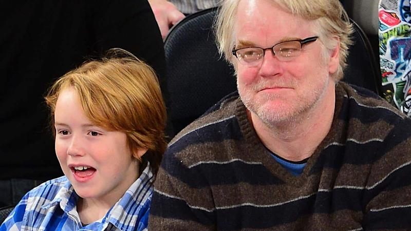 Cooper, son of Philip Seymour Hoffman, to make acting debut