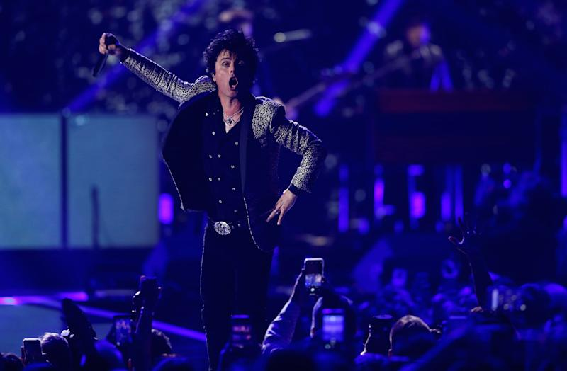 The NHL announced a two-year anthem partnership with punk rock band Green Day. (REUTERS/Steve Marcus)