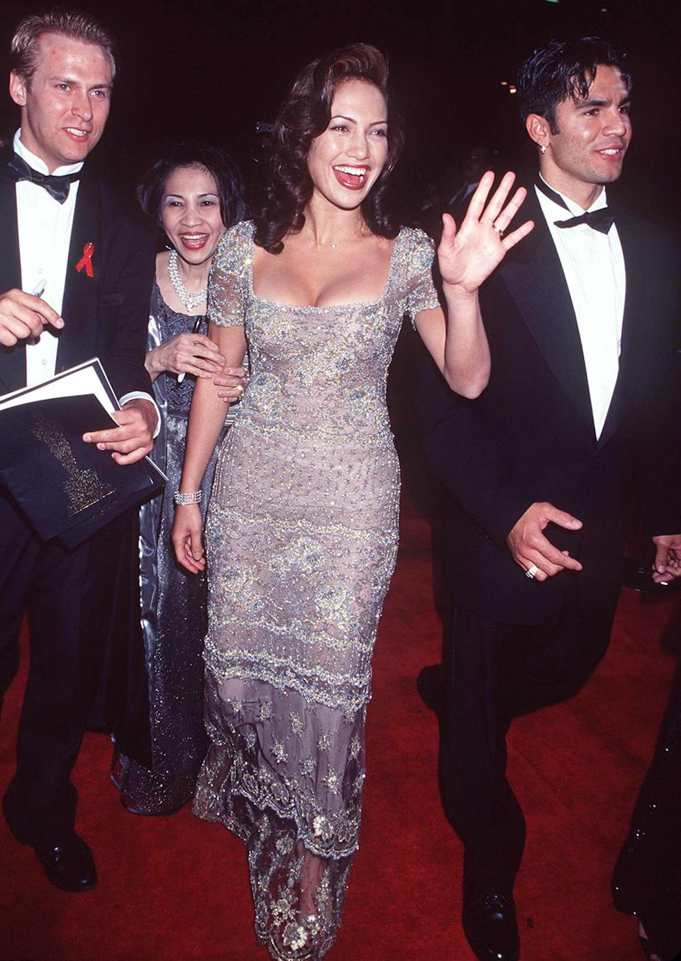 <p>Lopez gained attention for her breakout role in 'Selena,' which opened three days before the Oscars. (Photo: Jeffrey Mayer/WireImage) </p>