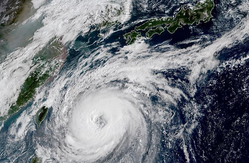 Japan braces as typhoon Trami charts course for main island