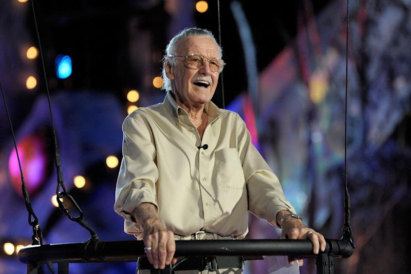 Stan Lee: Getty Images