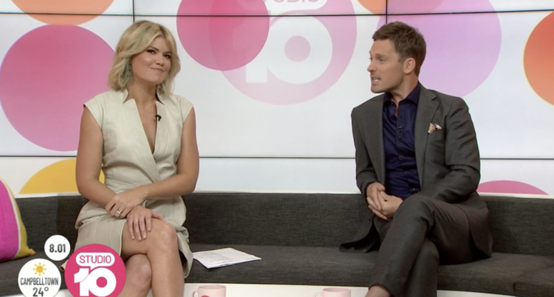 Sarah Harris and Tristan MacManus on Studio 10 panned by audiences