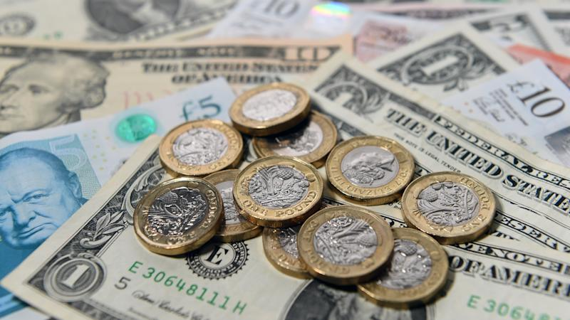 Pound soars against dollar and euro on Tory majority exit poll