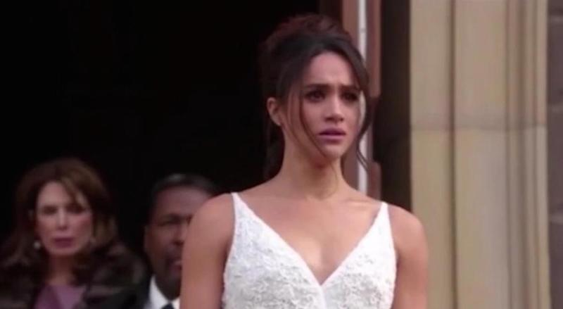 Meghan Markle S Wedding Dress From Suits Is Royally Perfect