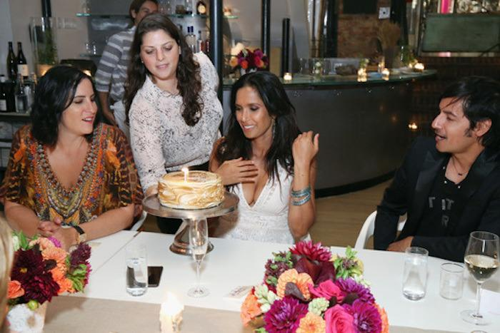 "<p>The ""Top Chef"" host turned another year older this week and to celebrate, <a href=""https://www.tinyprints.com/"">Tiny Prints</a> hosted a birthday party in her honor at <a href=""http://www.abchome.com/eat/abc-kitchen/"">ABC Kitchen</a>. Guests were treated to seasonal menu curated by chef <a href=""https://www.yahoo.com/food/four-star-chef-jean-georges-vongerichten-to-open-vegan-69610903088.html"">Jean-Georges Vongerichten</a> and Padma herself. </p><p><i>Photo: Getty Images for Tiny Prints<a href=""https://instagram.com/p/7mUkKspXIq/?taken-by=padmalakshmi""></a></i><br /></p>"