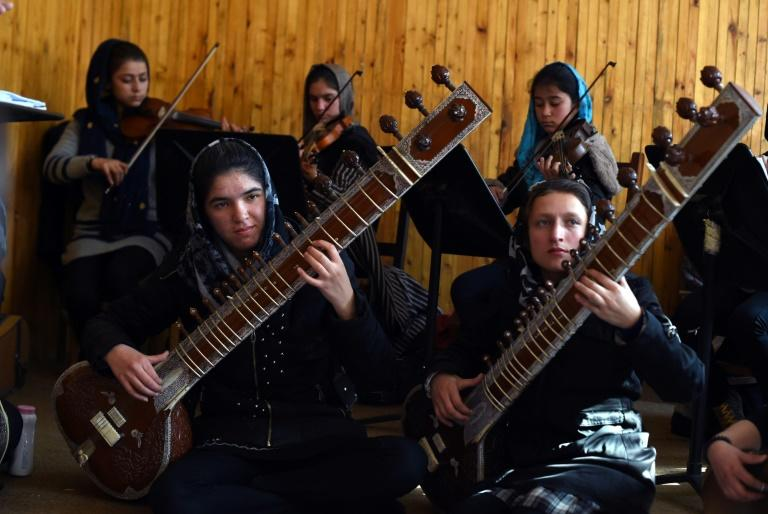 Music was banned during the Taliban's repressive 1996-2001 rule in Afghanistan and is still frowned upon in the tightly gender-segregated conservative society