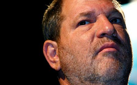 FILE PHOTO: Harvey Weinstein, Co-Chairman of the Weinstein Company, attends the inaugural Middle East International Film Festival in Abu Dhabi