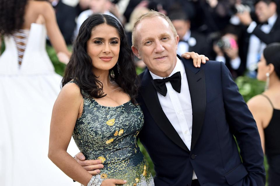 Salma Hayek shares relationship approach that makes her marriage work (Getty Images for Huffington Post)
