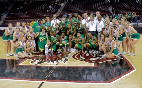 Green Wave players and cheerleaders celebrate the State Championship victory, an emotional conclusion to a remarkable story