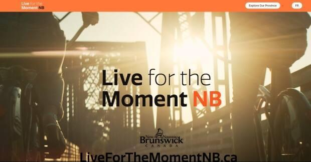 The New Brunswick government and a handful of economic development agencies launched Live for the Moment NB, a marketing campaign aimed at attracting remote workers from western and central Canada to move to the province. (Government of New Brunswick - image credit)