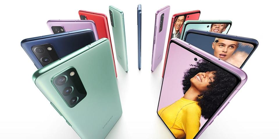 <p>In order for them to have the perfect Instagram, they need a great phone. That's where the <span>Galaxy S20 FE 5G</span> ($700) comes in.</p>