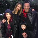 """<p>The actress, who is expecting her third child, showed off her fang-tastic family costume. """"Happy Halloween from our vampire family to yours,"""" she wrote. (Photo: <a rel=""""nofollow noopener"""" href=""""https://www.instagram.com/p/Ba7wi59BDRJ/?hl=en&taken-by=jessicaalba"""" target=""""_blank"""" data-ylk=""""slk:Jessica Alba via Instagram"""" class=""""link rapid-noclick-resp"""">Jessica Alba via Instagram</a>) </p>"""